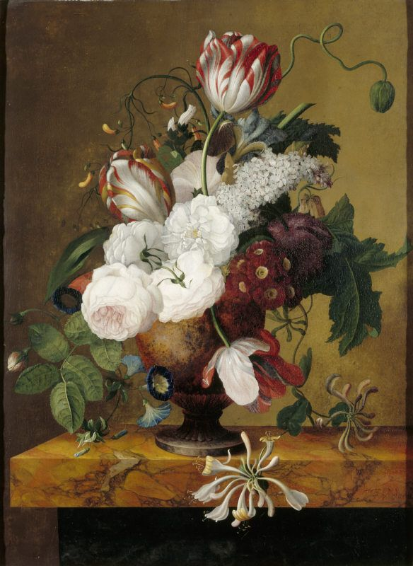 Floral still life by Jan Frans van Dael (1764-1840), at Blickling Hall, Norfolk…