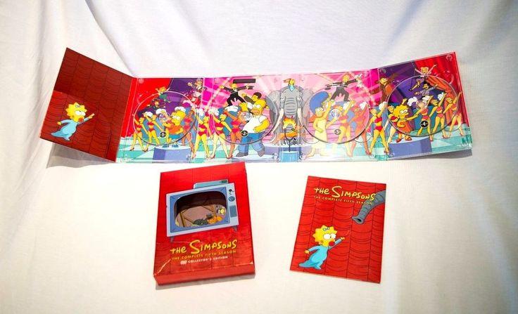 The Simpsons Season 5 (DVD 2009 4-Disc Set) Collectors Edition Homer Bart