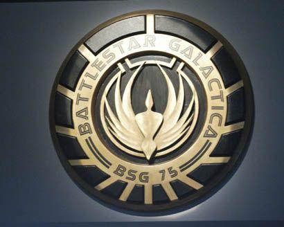 Battlestar Galactica logo  #nerd #geek