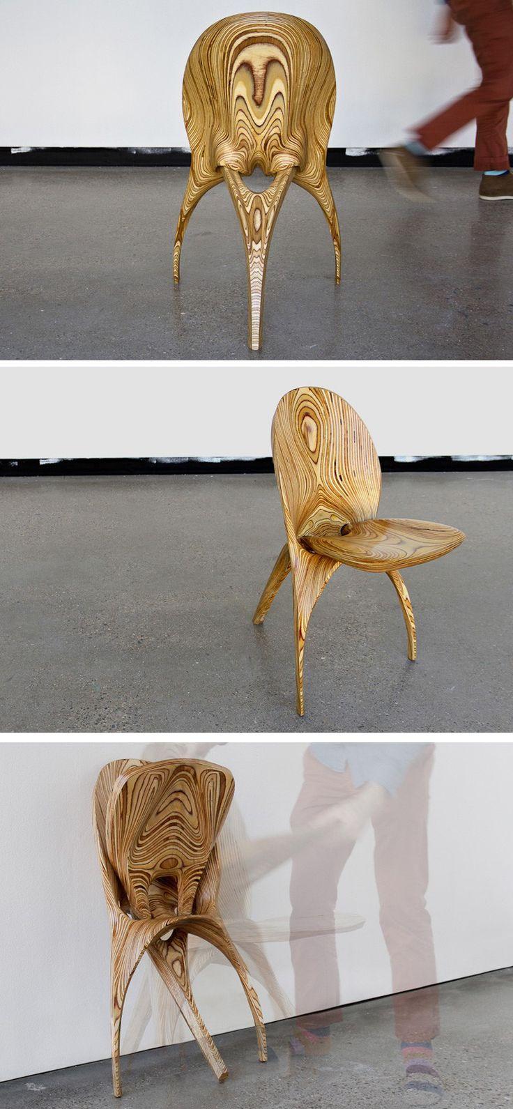 Architecture and design studio KALO have designed Stratum, a wooden ...