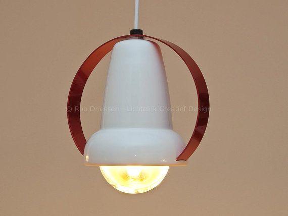redesign vintage lamp, model 7529 #vintage #redesign #madeinholland #ceilinglamp #dutchdesign #charlotteperriand #infraphil #hanglamp