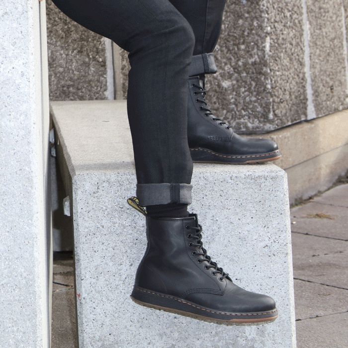 Introducing an iconic Dr. Martens style for the new generation: The Newton.  It's