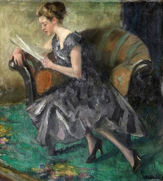 Reading Young Woman