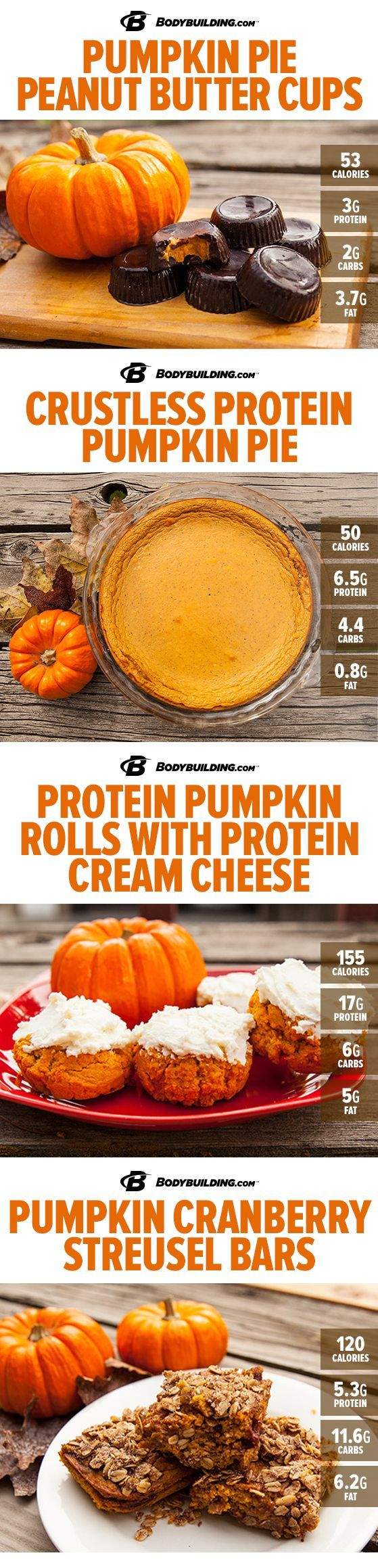 Healthy Recipes: 8 Delicious Protein Pumpkin Recipes! Nothing says fall like the…
