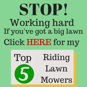 Everyone loves to have a big lawn but it can take quite a bit maintenance.  See my Top 5 list of riding lawn mowers to make your life easier.