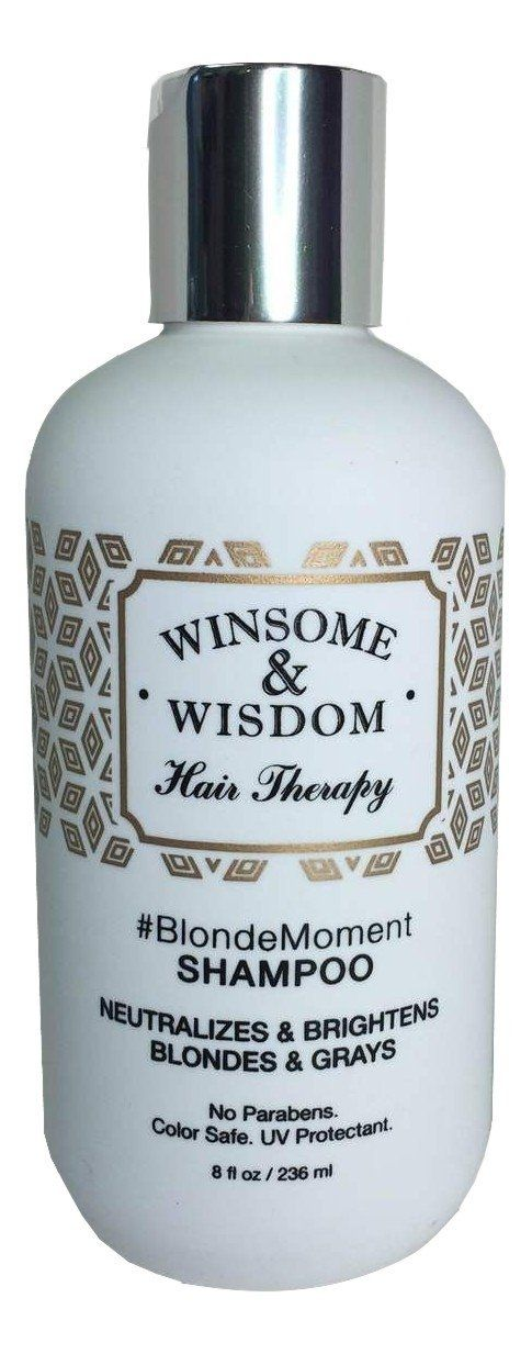 -BlondeMoment - Purple Shampoo for Blonde Hair - Blonde Shampoo - 8 Oz. Purple Toning Shampoo - Winsome and Wisdom - Paraben Free Toner Shampoo - Color Safe-UV Protectant-Cruelty Free Hair Products >>> You can get additional details at the image link.