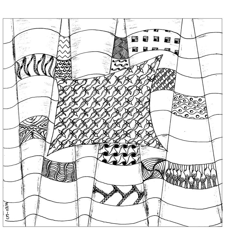 Free Coloring Page Cathym 1 Abstraction Exclusive