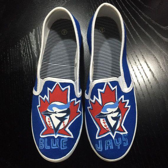 Hand Painted MLB Shoes Vans by ShoesAreMyCanvas