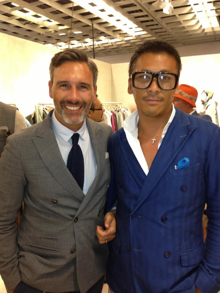 bald hair styles marco baldassari of eleventy pitti uomo s fashion 4334