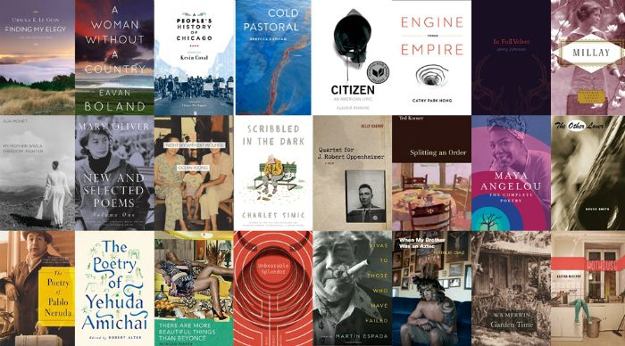 In honor of the art form, we're serving up a list of poets whose work offers a marriage of ideas and the exploration of language to the 2017 reader.