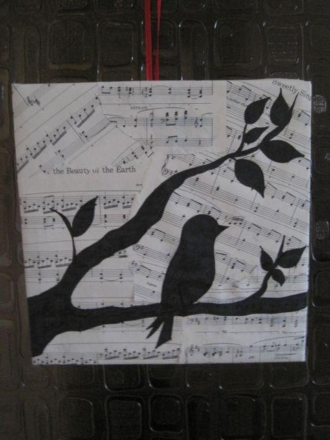 Elk vogeltje heeft zijn eigen (blad)muziek...