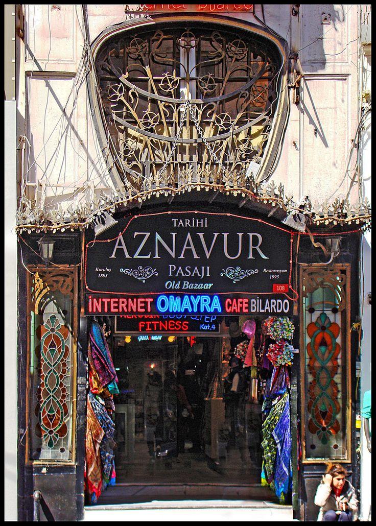 Aznavur Pasajı | Beyoğlu | İstanbul | Türkiye