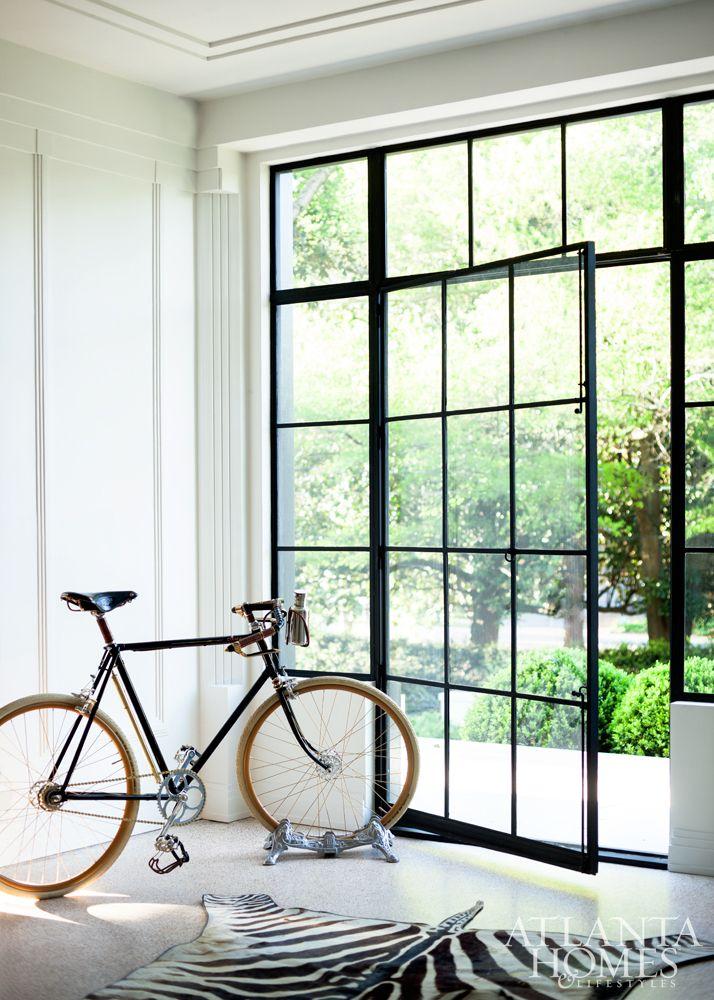 Art Deco in Atlanta. Metal DoorsIron ... & 133 best Steel Doors / Windows images on Pinterest | Dining rooms ...