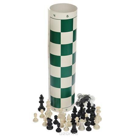 """Набор походный 2в1 """"Шахматы. Шашки""""  — 807 руб.  —  Походный набор """"Шахматы. Шашки"""" станет незаменимым во время похода или выезда на природу. В наборе - шахматные фигуры, шашки, два игральных кубика, игровое поле. Фигуры выполнены из пластика, дно оснащено противоскользящими вставками. Игровое поле представляет собой резиновое полотно. Предметы набора хранятся в пластиковом тубусе с регулируемым плечевым ремнем. Такой набор поможет развить логическое мышление и позволит вам интересно и с…"""