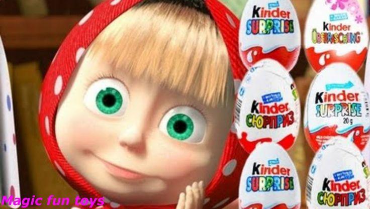 Киндер Сюрприз распаковка игрушек, Интересно детям, распаковка игрушек K...
