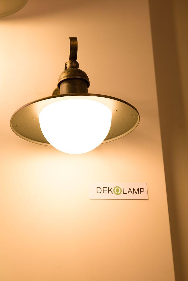 Venkovní lampa na zahradu
