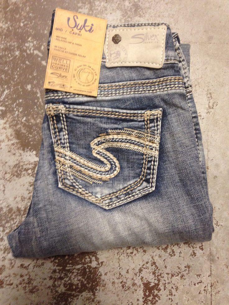 Silver Jeans Co. Suki Mid/Capri