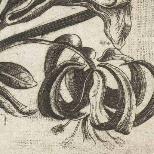 Klein boeket met bloemen, Monogrammist LRSG, ca. 1600 - ca. 1699 - Floral-Collected Works of Pugly Pixel - All Rijksstudio's - Rijksstudio - Rijksmuseum