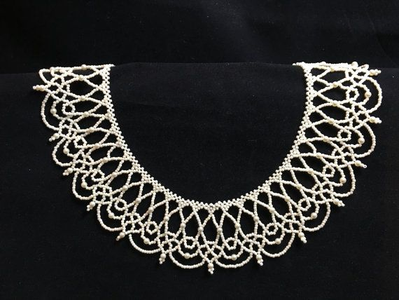 Baroque Beauty by TweedleBead on Etsy STUNNING.  Beautiful beaded necklace, would be great for a wedding as an attendant or a bridal present, and I know LOTS of people getting married.
