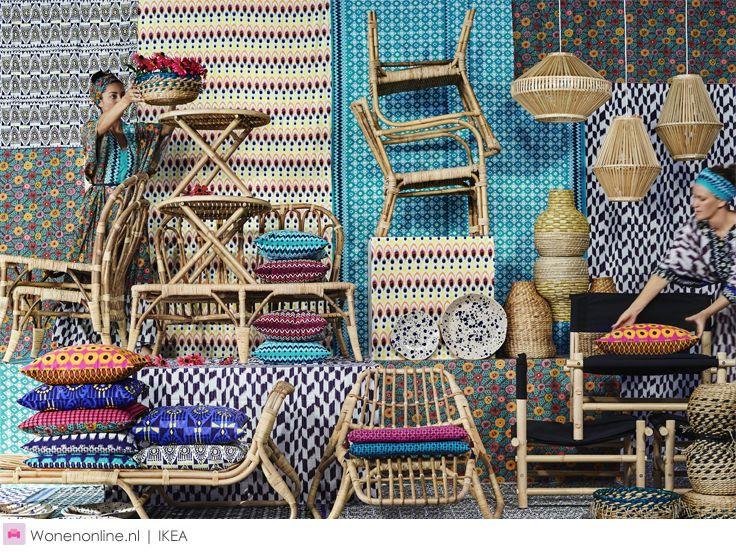 Nieuw IKEA JASSA - Turn up the heat! Want de langverwachte JASSA limited collectie komt eraan: een eclectische en warme mix van meubels, textiel en accessoires. De designers van IKEA werkten hiervoor samen met de Nederlandse topdesigner Piet Hein Eek.