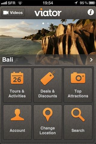 Viator Tours & Activities By Viator - Category: Travel - Mobile UX / UI Design #design