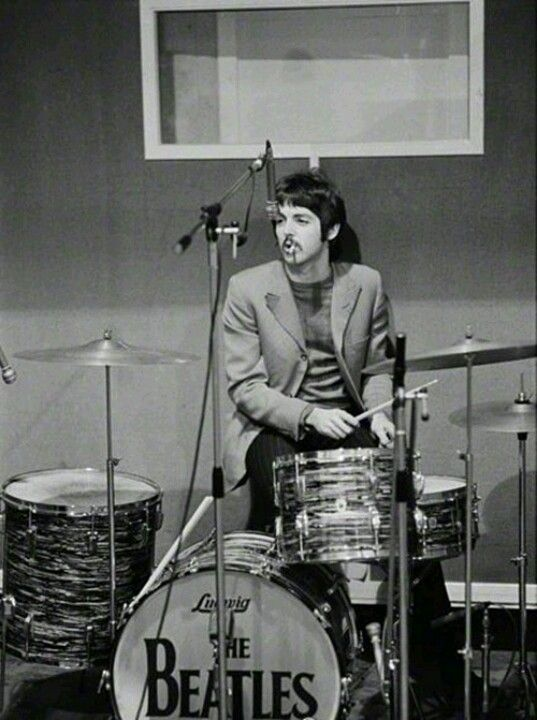"""""""Every time I went to get a cup of tea, he was on my drums!""""- Ringo Starr"""