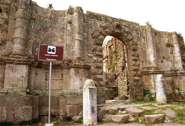 Seminara (ruderi del castello o palazzo Mezzatesta