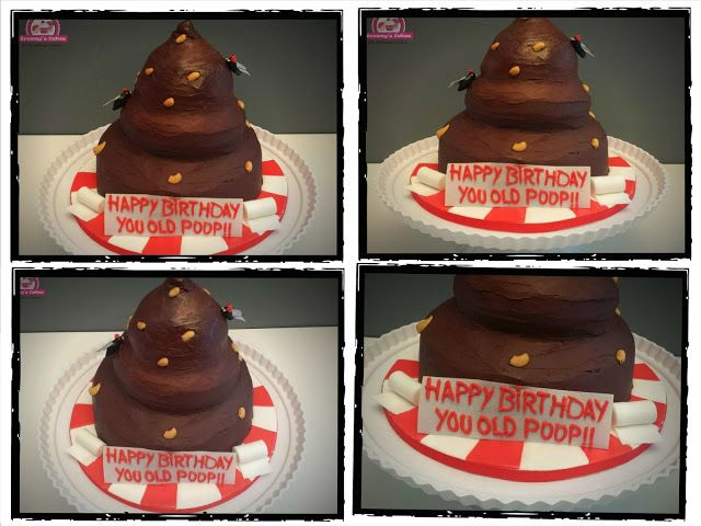 Browny's Cakes : Once upon a time there was a POOP Cake......