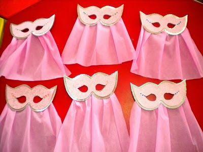 Προσχολική Παρεούλα : Μάσκες και καπέλα για την τρελή γιορτή !!!!!!!!