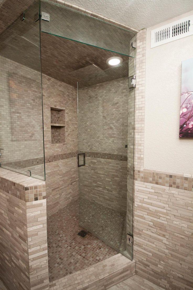 Modern And Sleek KOHLER K 9136 CP Square Design Tile In Shower Drain