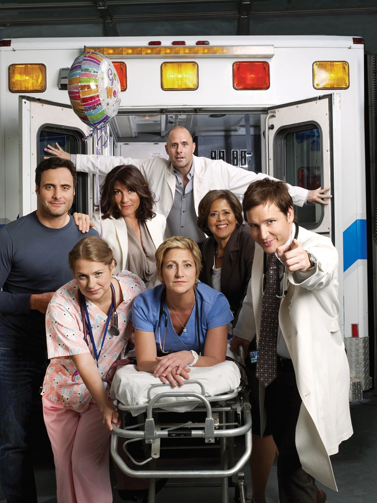 Nurse Jackie. The queen of sarcasm - she's great :)