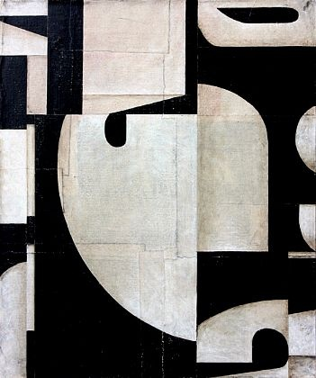 Get students to cut up large B typography and rearrange as a collage in a grid formation - expand this by enlarging the collage as a painting- distinguish each collage edge with gradation values - would do with yr 8-9-Image inspiration: Cecil Touchon