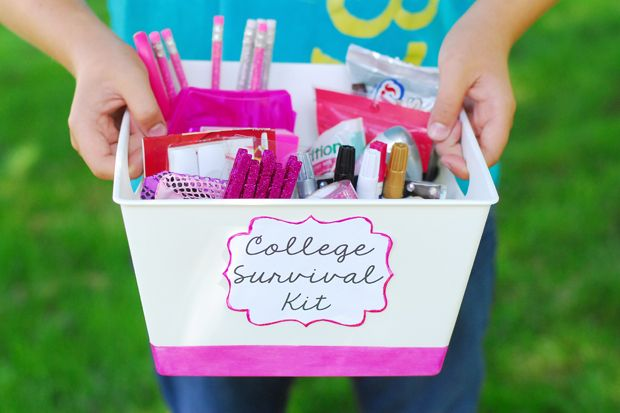 Back to School: College Survival Kit | eHow Crafts #client #backtoschool #college