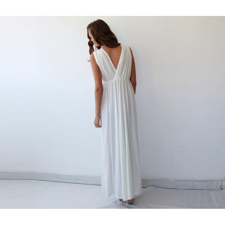 Perfect Wedding Dress ,Ivory Maxi Dress ,Wedding Gown , Ivory Wedding Dress