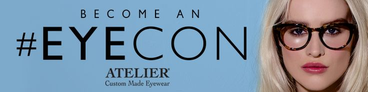 We at Atelier Eyewear are on a search for stylish, fashion forward people to become an Atelier #Eyecon! If you have what we're looking for, upload a selfie wearing your favourite sunglasses for a chance to win a pair of Custom Made Glasses or Sunglasses worth over £300! Go to http://www.ateliereyecon.com NOW!