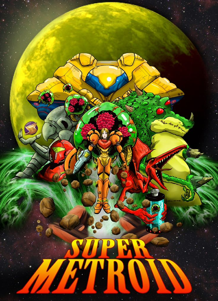 Super Metroid, this is one of the best video games ever, it was certainly the best Super Nintendo game. Immersive story line, tons of exploring for hidden items, great power ups, amazing 2d graphics, never get bored of playing this game.
