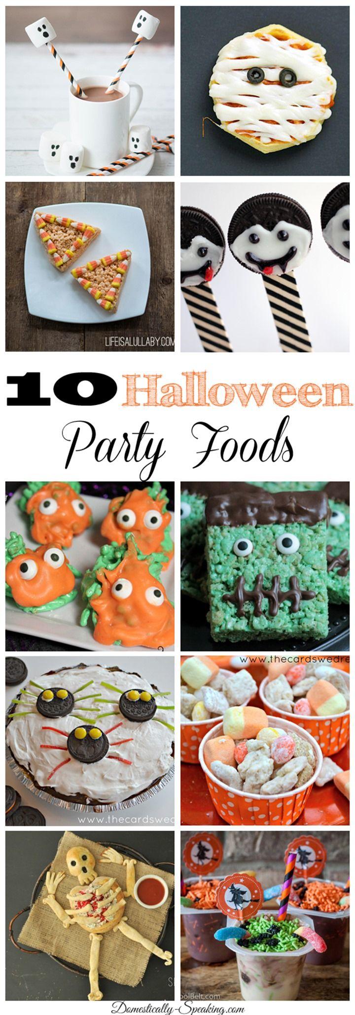10 Halloween Party Foods