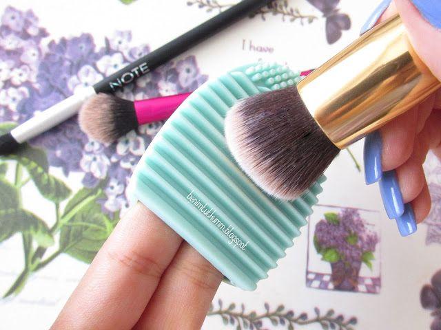 Benim Tutkum - Kozmetik ve Bakım Hakkında Herşey: Brush Egg - Makyaj Fırçası Temizleme Aparatı