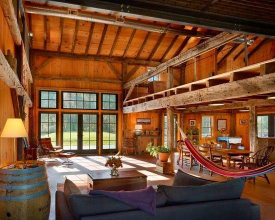 Furnitures Fascinating Barn Conversion Into Farmhouse