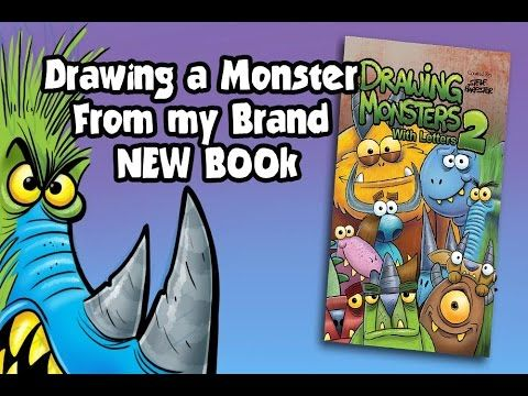 Drawing a Monster From My NEW Book!