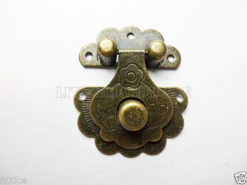 2-10-Vintage-style-small-box-hardware-lock-latch-box-latches-box-catches-LC0018