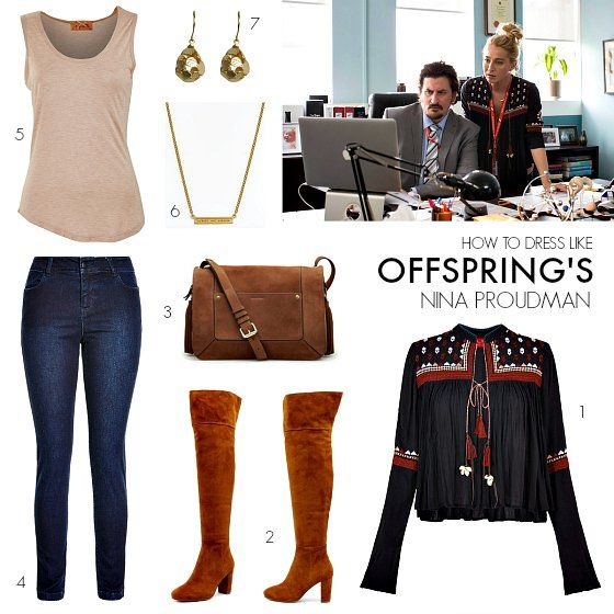 How to dress like Offspring's Nina Proudman | Series 6 Episode 4 | Styling You