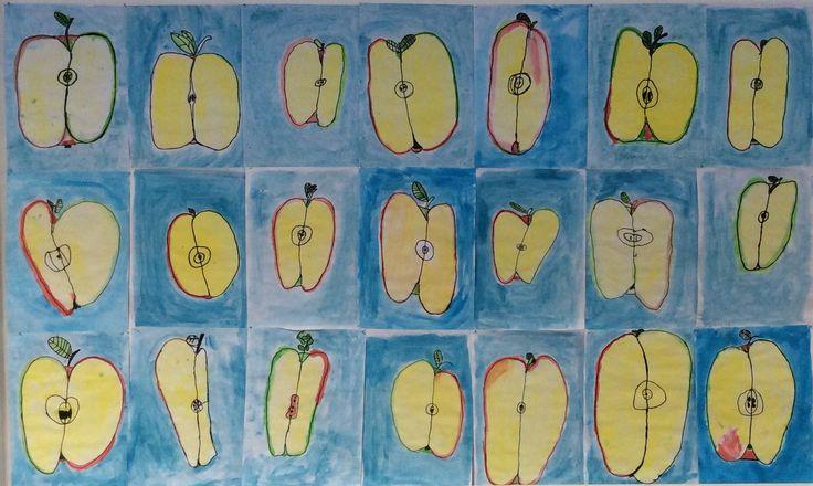 Fristende æbler og syndefald – 1. klasse