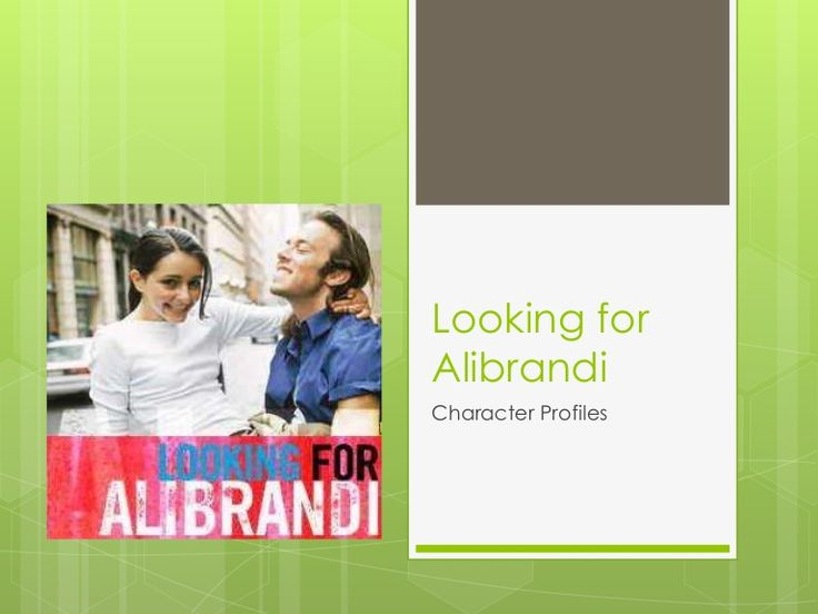 looking for alibrandi : changes in the character of josephine essay Category: looking for alibrandi essays title: looking for alibrandi by melina   this helps to instigate a positive change in josephine's perception of herself and   the author melina marchetta has portrayed her teenager characters in ways,.