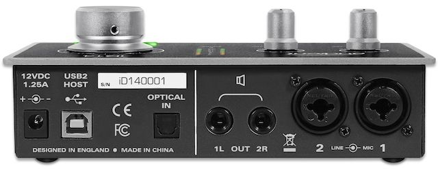 Audient iD14 – pikkupajan kompakti kontrolleri   Riffi