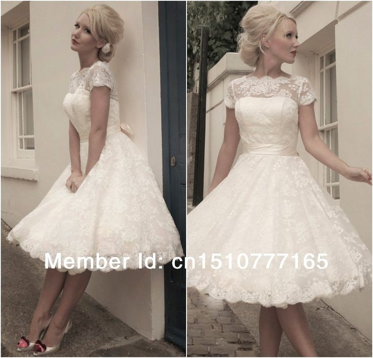 Fancy Cheap wedding dress rosettes Buy Quality dress up wedding directly from China wedding tassels Suppliers Stock Boat Neck Sash Knee length Short Sleeve