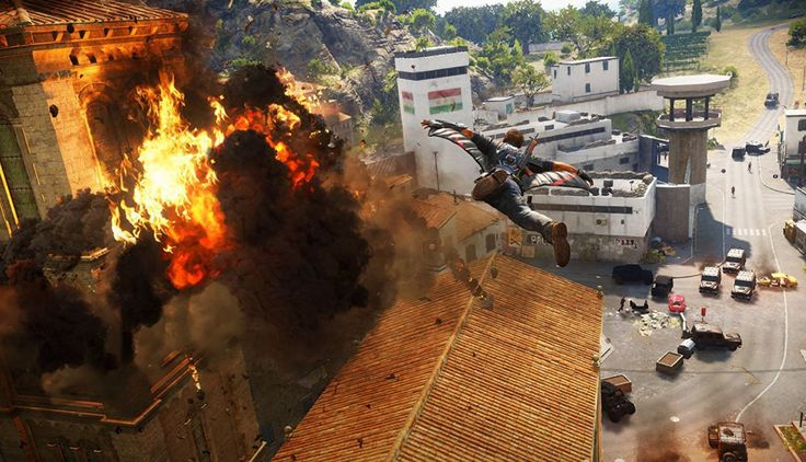 Video Game Just Cause 3 is out and it is awesome