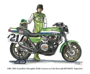 kawasaki z1000r 1983 replica eddie lawson - Google Search