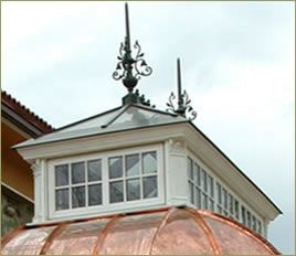 would love this on the roof of my barn, especially with windows that could be opened in summer to vent the heat