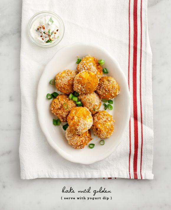 Butternut Squash Croquettes // loveandlemons.com (vegan options)